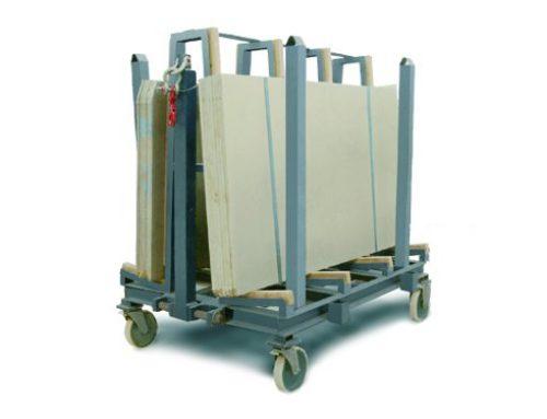 Carro de medios tonelajes para paquetes de tablas