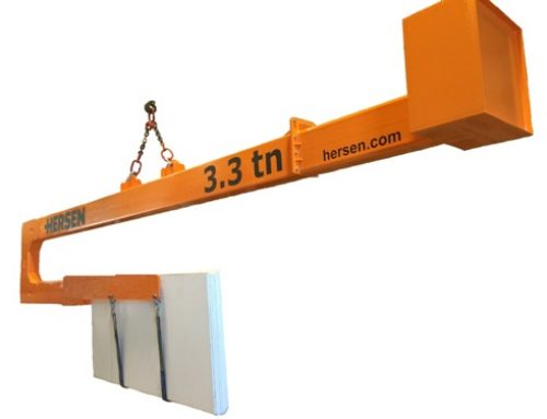 Jib Arm for loading and unloading Bundles in Closed Containers. Tipe A and L