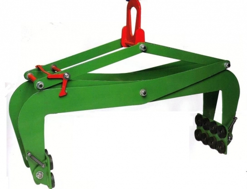 Clamp for lifting marble slabs, 1m aperture
