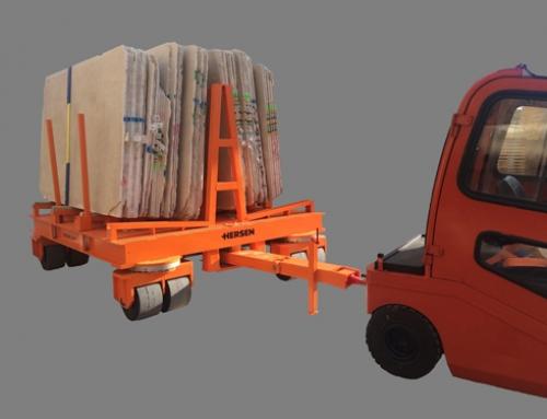 Carro para gran tonelaje con giro delantero (modelo Simple)