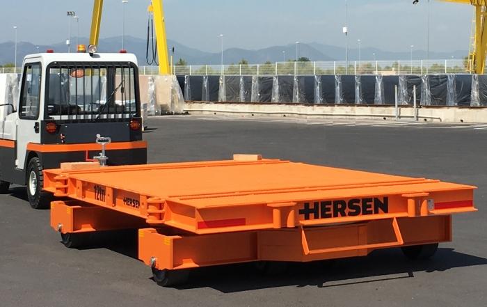 Hersen - Remolques industriales para marmol y piedra