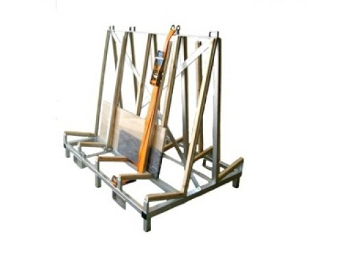 Galvanised truck frame rack