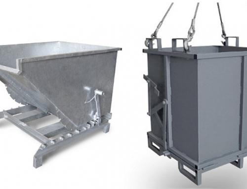 Tipos de contenedores para productos sólidos