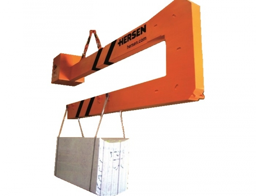 Jib Arm for loading and unloading Slabs on B and BL Containers