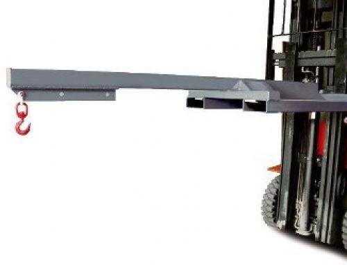 Brazo para colocar pinza con carretilla elevadora longitud 2,4 m
