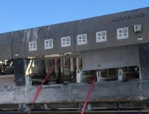 Pulidora de cinta Canigó HPCS-850/2/6