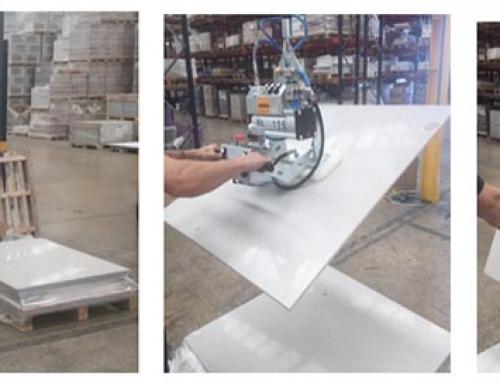 HERSEN instala 6 equipos de manipulación en los centros logísticos de Pamesa Cerámica