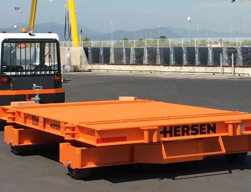 Los remolques industriales mejor preparados para cargas de gran tonelaje