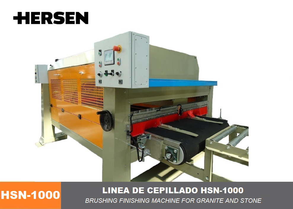 Linea de cepillado HSN-1000