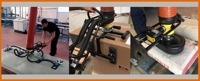 manipuladores industriales de carga por vacío