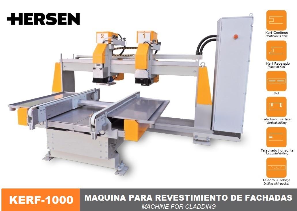 Máquina para revestimiento de fachadas KERF-1000-1