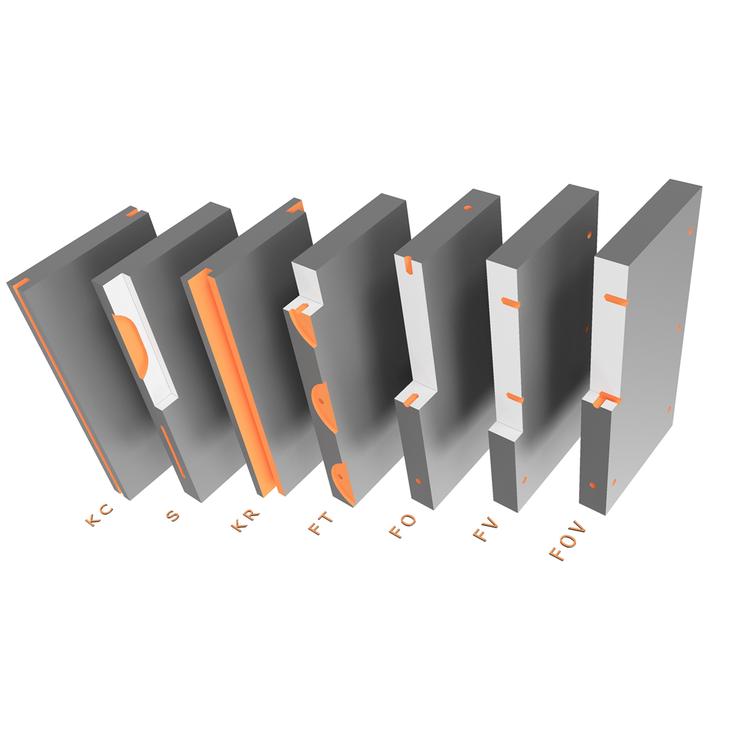 Máquina para revestimiento de fachadas KERF-1000-5