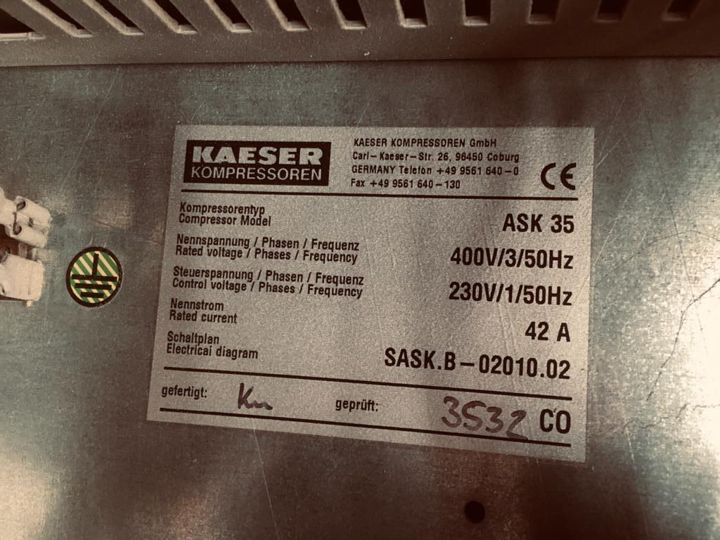 Compresor tornillo Kaeser 3