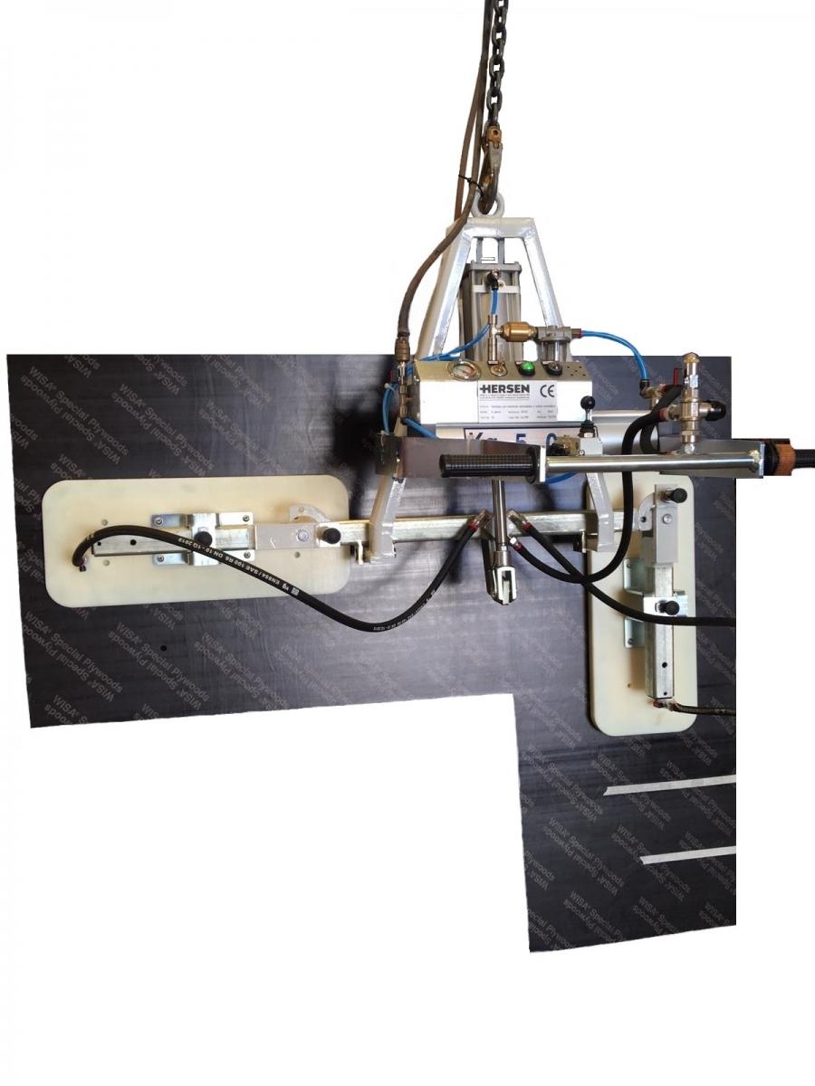 Ventosa para manipular encimeras de cocinas